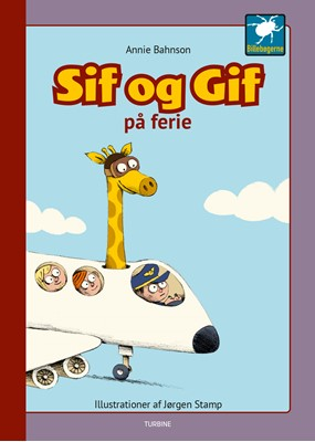 Sif og Gif på ferie Annie Bahnson 9788740664447
