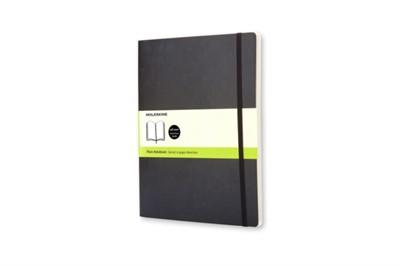Moleskine Soft Extra Large Plain Notebook Black Moleskine 9788883707261