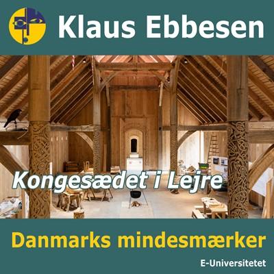 Kongesædet i Lejre Klaus Ebbesen 9788794018241