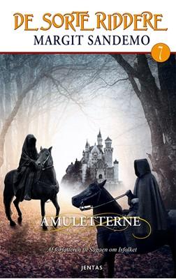 De sorte riddere 7 - Amuletterne Margit Sandemo 9788771074604
