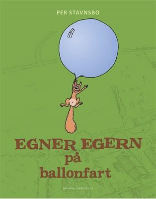 Egner Egern på ballonfart Per Stavnsbo 9788772188638