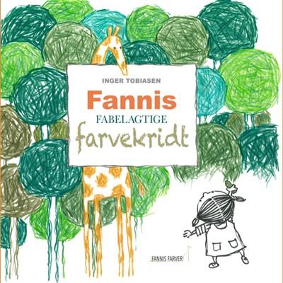 Fannis fabelagtige farvekridt Inger Tobiasen 9788793947160