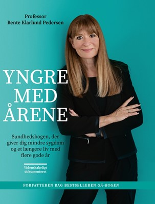 Yngre med årene Bente Klarlund Pedersen 9788702300147