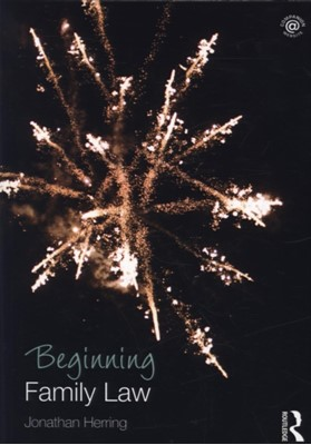 Beginning Family Law Jonathan (University of Oxford Herring 9781138778610