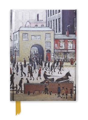 L. S. Lowry: Coming from the Mill (Foiled Journal)  9781783616664