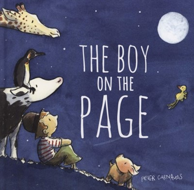The Boy on the Page Peter Carnavas 9781912858392