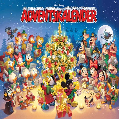 Walt Disney's Adventskalender DISNEY 9788793840249