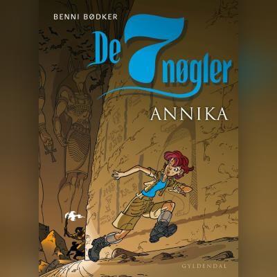 De syv nøgler - Annika Benni Bødker 9788762521919
