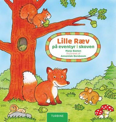 Lille Ræv på eventyr i skoven Marja Baeten 9788740664201