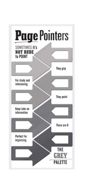 Page Pointers Page Markers- Grey  5035393320010