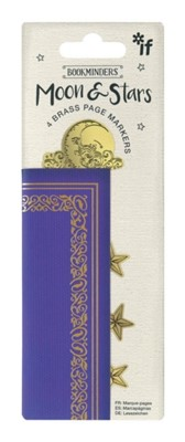 Bookminders Page Markers - Moon & Stars  5035393403034