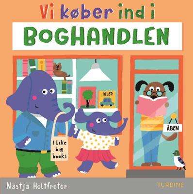 Vi køber ind i boghandlen Nastja Holtfreter 9788740663914