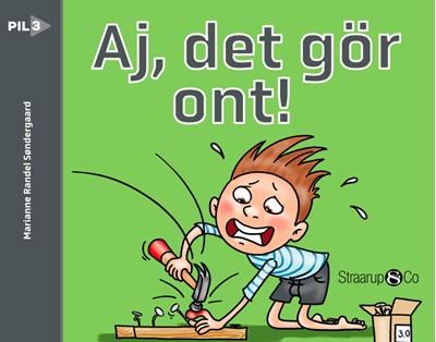 Aj! Det gör ont!  Marianne Randel Søndergaard 9788770188432