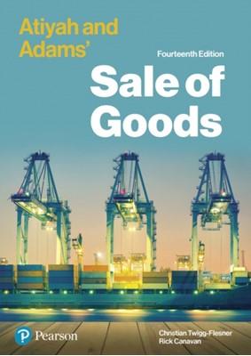 Atiyah and Adams' Sale of Goods Christian Twigg-Flesner, Rick Canavan 9781292251028