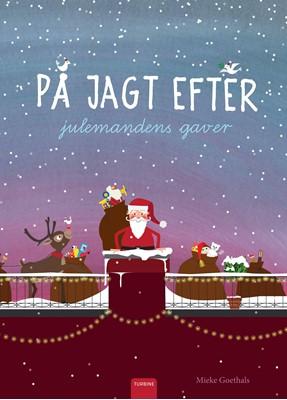 På jagt efter julemandens gaver Mieke Goethals 9788740662078