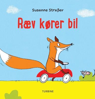 Ræv kører bil Susanne Straßer 9788740665710