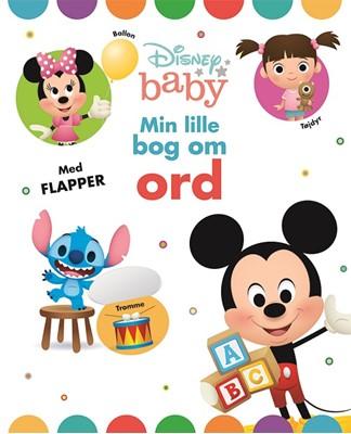 Disney Baby Min lille bog om ord Karrusel Forlag 9788771862072