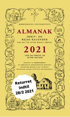 Universitetets Almanak Skriv- og Rejsekalender 2021 Københavns Universitet 9788799629541