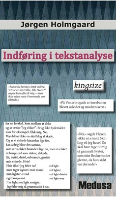 Indføring i tekstanalyse Jørgen Holmgaard 9788773323090