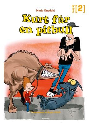 Kurt får en pitbull Marie Duedahl 9788740666632