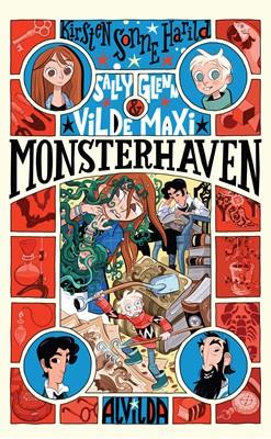 Sally, Glenn og vilde Maxi 3: Monsterhaven Kirsten Sonne Harild 9788741508979