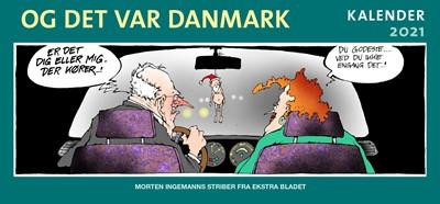 Og det var Danmark kalender 2021 Morten Ingemann 9788740059892