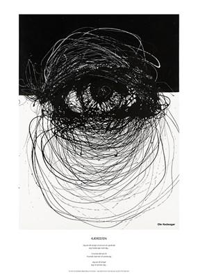 Kæresten (Plakat) Kit Sørensen 5700002204363