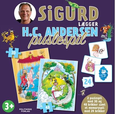 Sigurd lægger H.C. Andersen puslespil Sigurd Barrett 9788740065152