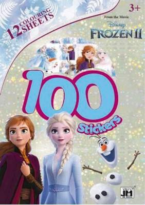 Frozen 2 – 100 stickers  9788793770362