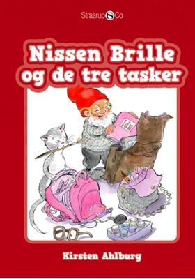 Nissen Brille og de tre tasker  Kirsten  Ahlburg 9788770189927