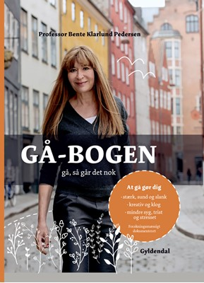 Gå-bogen Bente Klarlund Pedersen 9788702259803