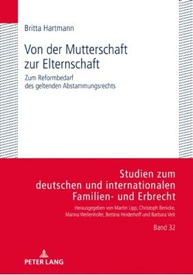 Von Der Mutterschaft Zur Elternschaft Britta Hartmann 9783631814321