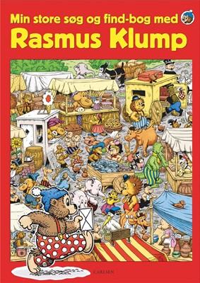 Min store søg og find-bog med Rasmus Klump Per Sanderhage 9788711991633