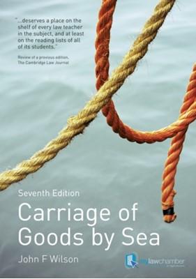 Carriage of Goods by Sea John F. Wilson, John Wilson 9781408218938