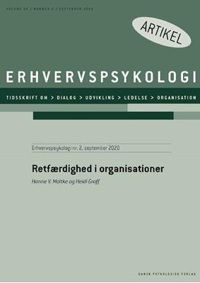 Retfærdighed i organisationer Heidi  Graff, Hanne V.  Moltke 9788771854862
