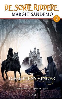 De sorte riddere 9 - Dæmonens vinger Margit Sandemo 9788771074642