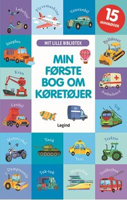 Min første bog om køretøjer Olga Utkina 9788771559453