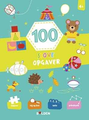 100 sjove opgaver - fra 4 år  9788772054667