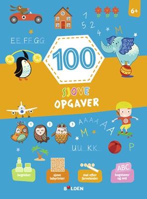 100 sjove opgaver - fra 6 år  9788772054681