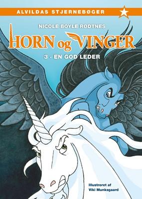 Horn og vinger 3: En god leder Nicole Boyle Rødtnes 9788741513706