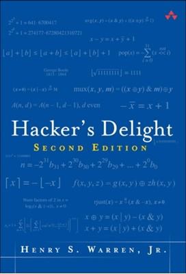 Hacker's Delight Henry S. Warren, Henry Warren 9780321842688