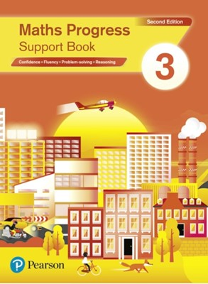 Maths Progress Second Edition Support Book 3 Naomi Norman, Katherine Pate 9781292279947