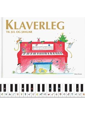 Klaverleg til jul og januar Pernille Holm Kofod 9788793603059