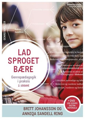 Lad sproget bære - 2. udgave med DVD Anniqa Sandell Ring, Britt Johansson 9788750044055