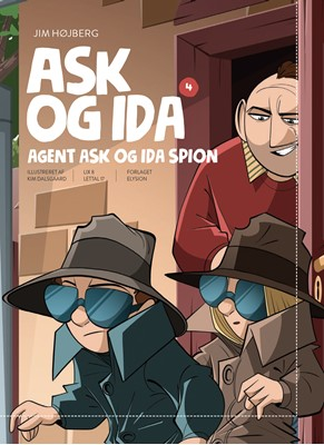 Agent Ask og Ida spion Jim Højberg 9788772149752