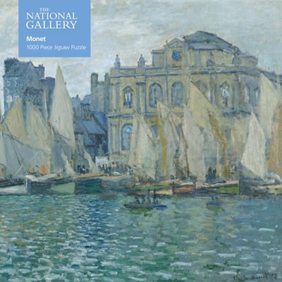 Adult Jigsaw Puzzle National Gallery: Monet The Museum at Le Havre  9781787556096