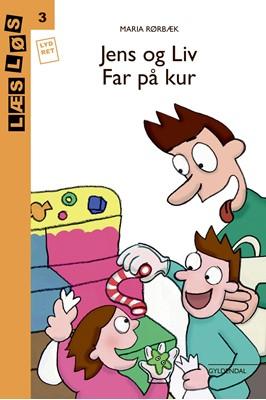 Jens og Liv. Far på kur Maria Rørbæk 9788762518209