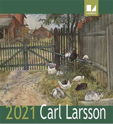 Carl Larsson kalender 2021  9788772241111