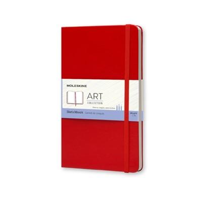 Moleskine Large Sketch Book Red  9788862930345