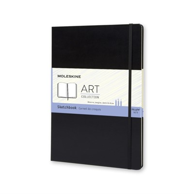 Moleskine A4 Sketchbook Black  9788862931939